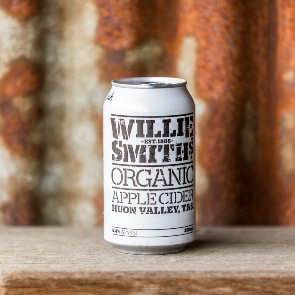 Willie Smith's Organic Cider from Huon Valley Tasmania